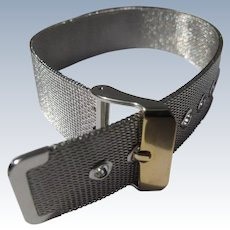 Silver Metal Bracelet Belt Like Perfect for Watch Band