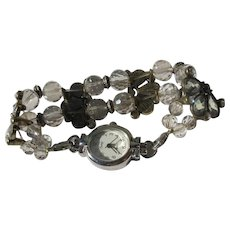 Crystal Beaded Watch