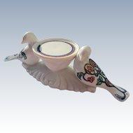 Elizabeth Arden Porcelain Candle Holder Display Birds