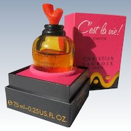 Boxed Perfume Bottle Cost La Vie Parfum by Christian Lacroix Paris, France