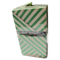 Vintage Boxed Perfume Bottle Ma Griff by Carven 1960's Unused Unopened 1 OZ Parfum - Red Tag Sale Item