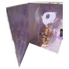 Novelty Perfume Bottle Boxed Lolita Lempicka Flower Ladybug 1.7 OZ 1997