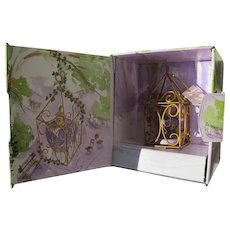 French Mini Perfume Bottle Lolita Lempicka Apple in Cage Boxed 1997
