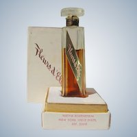 Vintage Perfume in Box Nettie Rosenstein Fluers d'Elle 1961