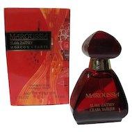 Vintage Perfume Bottle Russian Maroussia Toilette Spray 1 OZ