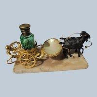 French Perfume Bottle Display Palais Royal 1880's