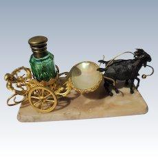 French Perfume Bottle Display Palais Royal 1800's