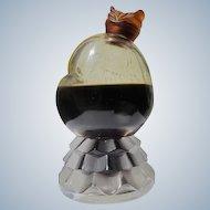 Vintage Perfume Bottle Chi Chi by Renoir Perfumes 1940's