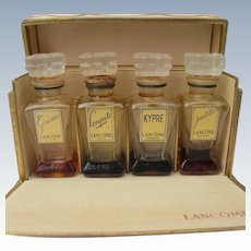 Boxed Perfume Set by Lancome from 1930's