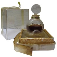Coty Emeraude Vintage Boxed Perfume 1960's