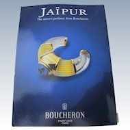 Vintage Perfume Image for Boucheron Jaipur Special Gift from 1994