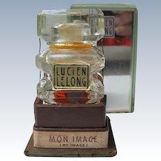 Boxed Perfume Bottle Lucien Lelong Mon Image 1933