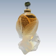 Lalique Perfume Bottle Les Elfes Crystal Boxed Unopened Limited Edition