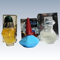 Mini Perfume Bottles Boxed Lou Lou, Oscar de la Renta Dali