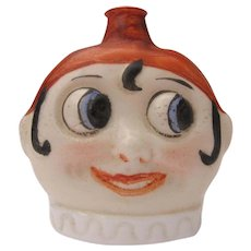1920's Porcelain Perfume Germany Figural Crown Top