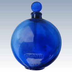 Worth Perfume Bottle Dans la Nuit 1924 Numbered Lalique Designed