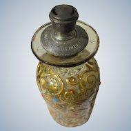 Sprinkler Perfume Bottle Moser Look Enamel Paint 1890