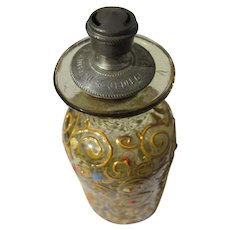 Sprinkler Perfume Bottle Moser Look Enamel Paint 1890