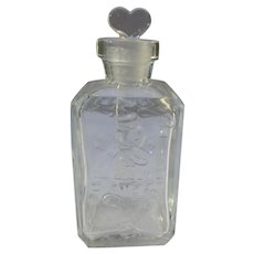 Vintage Perfume Bottle Heart Stopper Card Suits