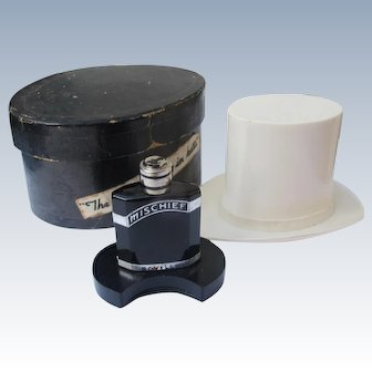 Boxed Perfume Bottle Top Hat Mischief by Saville Novelty