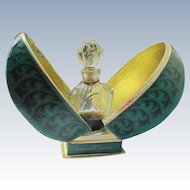 Boxed Russian Perfume Bottle 1960