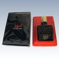 Lalique Mini Perfume Bottle Boxed Habanita by Molinard France Nudes