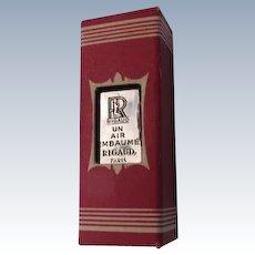 Rare Mini Perfume Bottle 1915 Rigaud Boxed Mini of Un Air Embaume