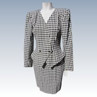 Couture Wool Suit by designer Paul Gaultier 1980's