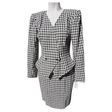 Couture Wool Suit by designer Paul Gaultier 1980's - Red Tag Sale Item