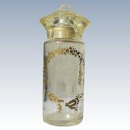 Perfume Bottle 1940's Lucite Top Baby Bottle Design Novelty Bottle