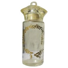 Perfume Bottle 1940's Lucite Top Baby Bottle Design Novelty Bottle