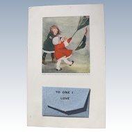 Unique Postcard Love Letter 1905 April Fools