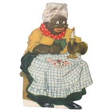 Black Americana Trade Card Golliwog Campbells 1890s