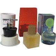 Mini Perfume Bottles in Boxes by Liz Claiborne 1990's
