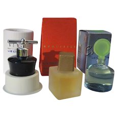 Mini Perfume Bottles in Boxes by Liz Claiborne 1990's