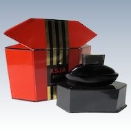 Boxed Mini Perfume Bottle ASJA by Fendi Eau de Parfum 1992