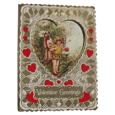1900 Valentine's Day Card in Great Condition