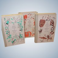Family Treasury of Children's Stories Series Books 1 2 and 3 Double Day Pub 1956