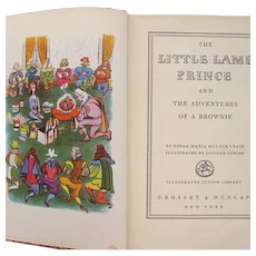The Little Lame Prince by Mulock Craik 1948 Illustrated by Corcos