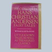 Hans Christian Andersen Fairy Tales 1981 Ex. Condition w/ Illustrations Hard Copy