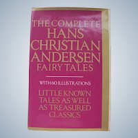 Hans Christian Andersen Fairy Tales 1981 Ex. Condition w/ Illustrations Hard Copy