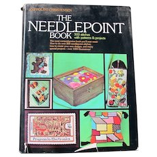 The Needlepoint Book by Christensen 1976 Good Condition