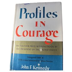John F Kennedy Book Profile in Courage Pulitzer Prize Winner 3rd Printing