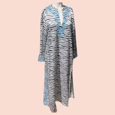 Vintage Long Dress IMAN Animal Print Never Worn Size Small