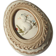 Vintage Hallmark Easter Egg Ceramic in Box