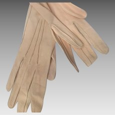 Opera Kid Gloves Suede with Buttons Shammy Soft