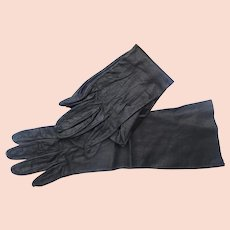 Vintage Kid Leather Gloves Size 7 Good Condition