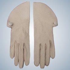 Vintage Leather Gloves Hand Sewn Size 6 Speare