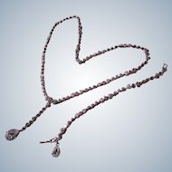 Necklace and Bracelet Set Bling Sparkly Rhinestones