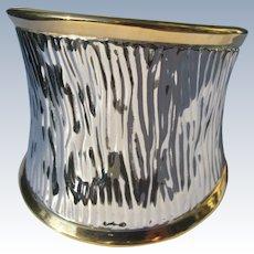 Wide Cuff Bracelet Stainless Steel